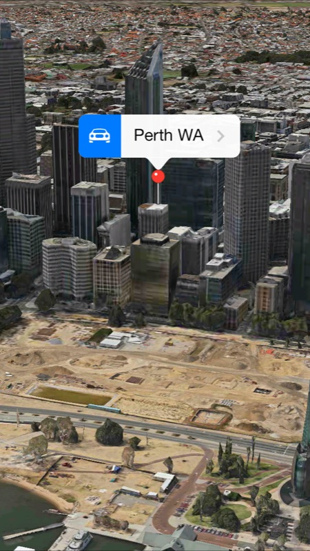 Apple's Maps App Gets 3-D Flyover Support For Perth, Saint-Tropez And Cordoba