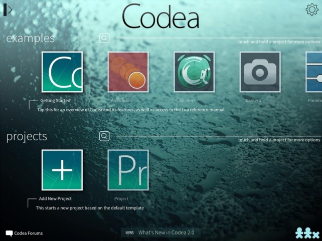 Codea, The Smart iPad Code Editor, Gets Its Biggest Update Yet