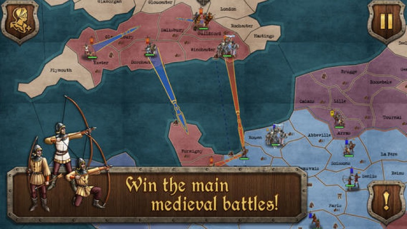 Medieval Wars Gets A Big Update Adding New Campaign, 4 Extra Scenarios