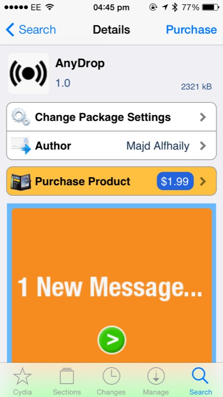 Cydia Tweak: AnyDrop Lets Users Share Any File Using Apple's AirDrop