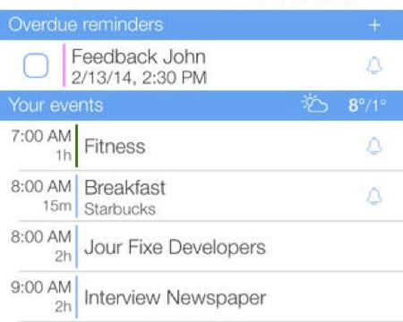 The 'Missing iPhone Calendar' miCal Gets Optimized For iOS 7 In A Brand New App