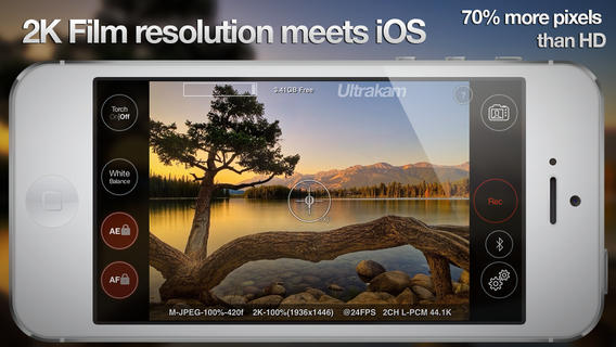 Ultrakam Brings 2K Video Recording To Apple's iPhone 5s