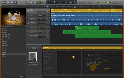 Apple Adds New Drum Kits And Brings Back MP3 Export To GarageBand For Mac
