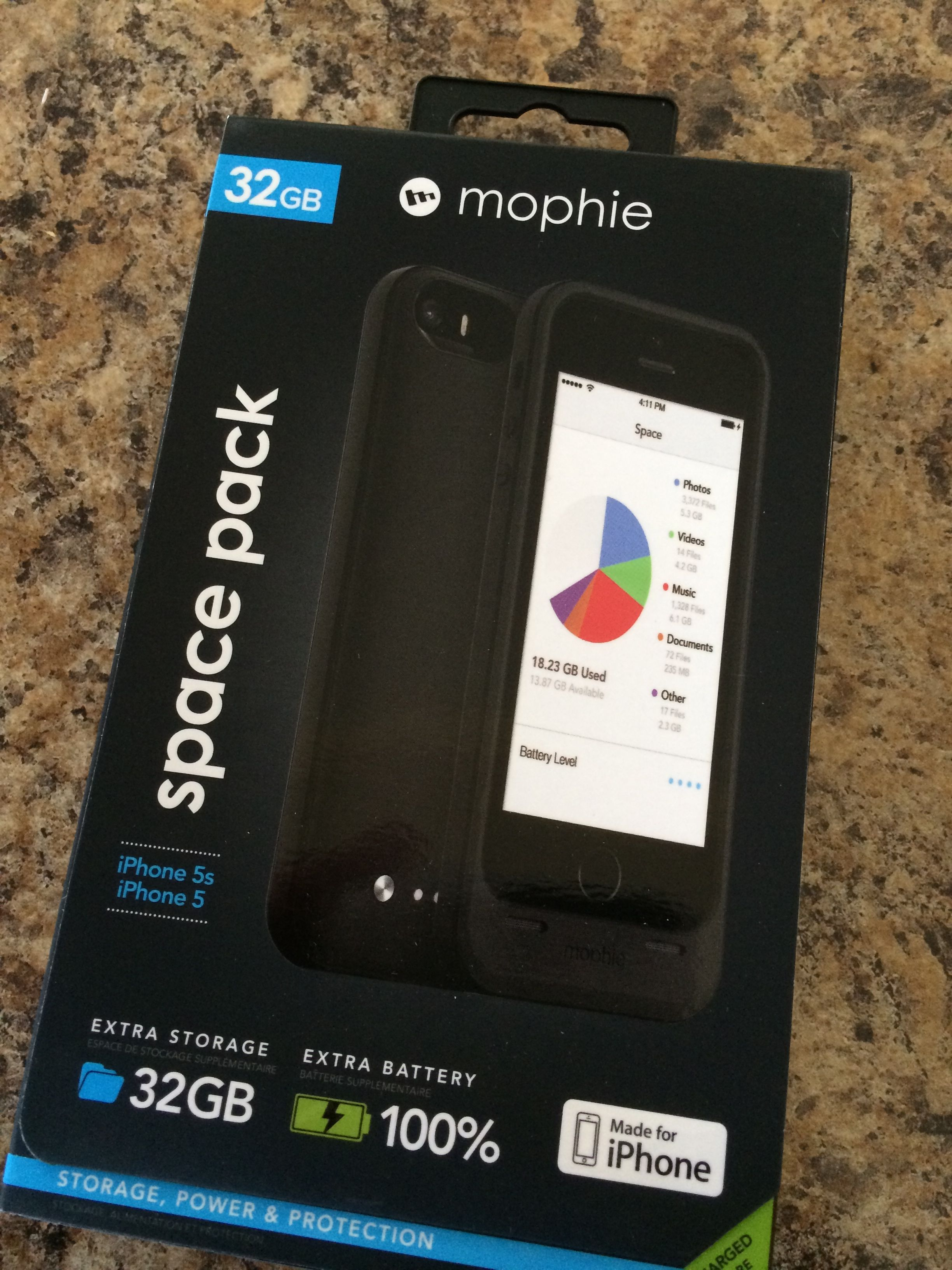 The First Mophie Space Pack Cases Are Arriving, Extends iPhone Memory Storage