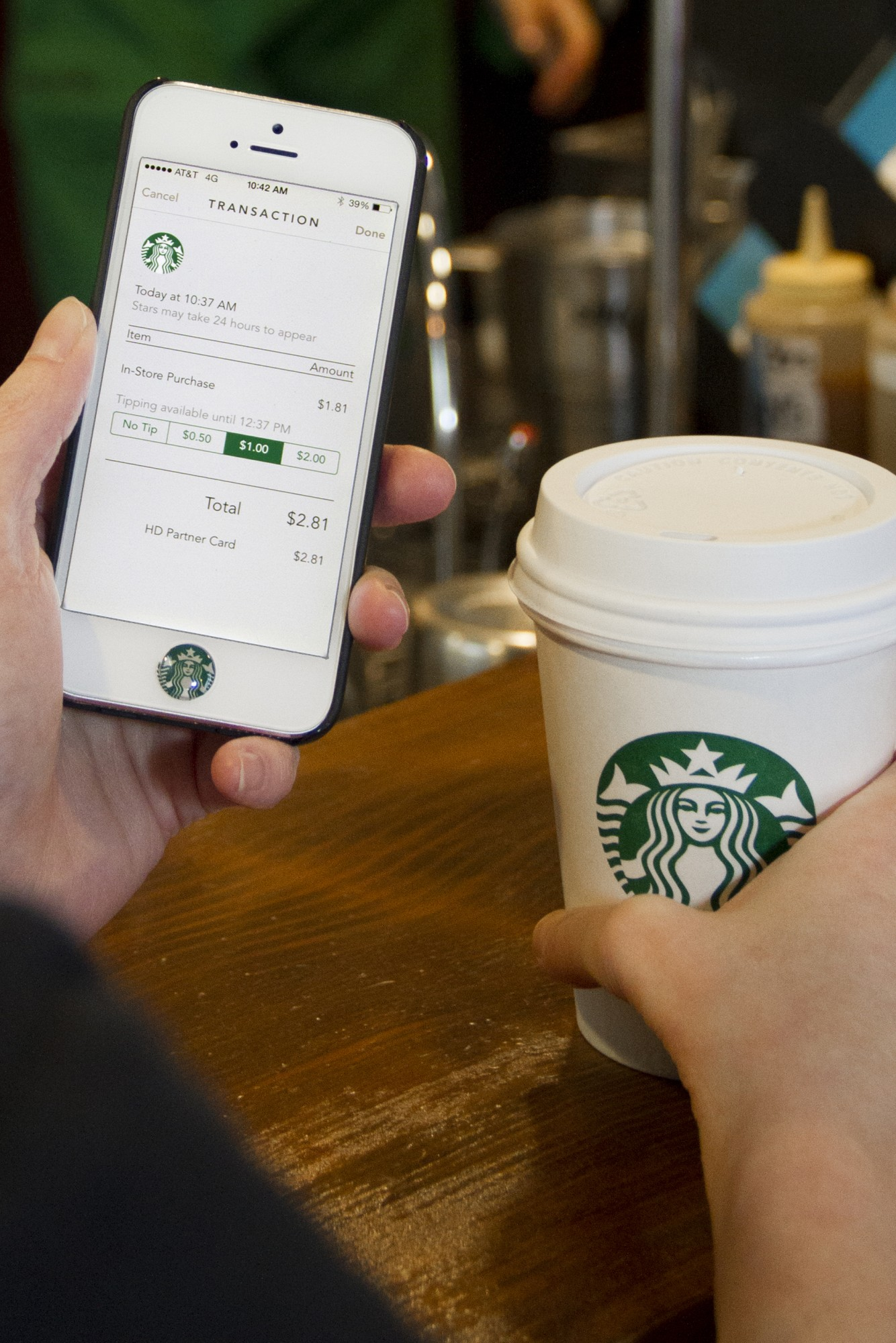 Starbucks To Update iOS App With New Design, Digital Tipping And 'Shake To Pay'