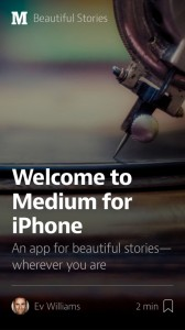Connect With The Stories That Matter With Medium For iPhone