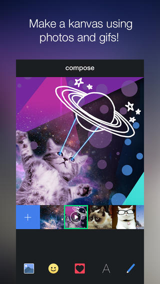 Kanvas 2.0 Brings Images To Life With Support For Videos, GIFs And Animated Overlays