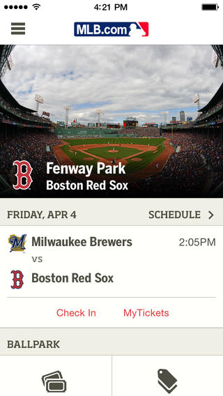 MLB.com At The Ballpark 3.0 Features iBeacon Support And iOS 7 Redesign