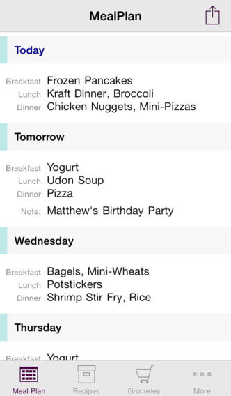 MealPlan Goes 2.0 With Universal Support For iPhone Plus iCloud Sync