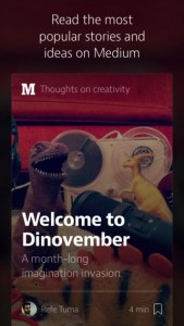 Twitter And Blogger Cofounder's Medium Unveils First Mobile App On iOS