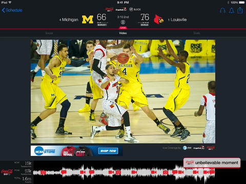 Game On: NCAA March Madness Live Updated For 2014 Tournament And iOS 7