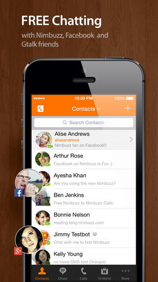 Nimbuzz Messenger Updated With iOS 7 Redesign Plus New nPlayz Video Experience