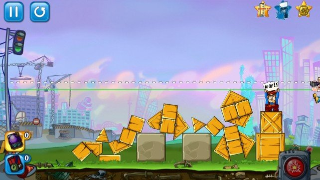 If You're Rich Or Patient, Become A Destruction Expert In Demolition Crush