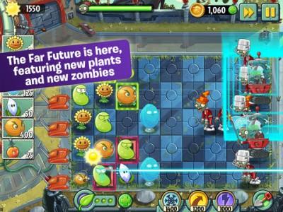 Plants Vs. Zombies 2 Updated With New Far Future World Plus Fan-Favorite Zen Garden