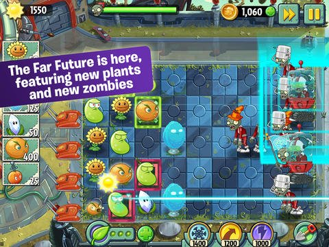 Plants Vs. Zombies 2 Updated With New Far Future World Plus Fan-Favorite Zen Garden