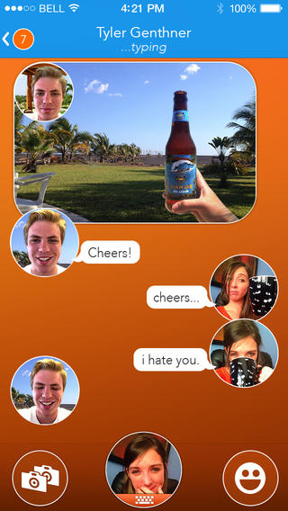 Selfie Messaging App React Gets Redesigned And Updated With Improvements