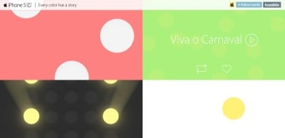 Apple Brings A Handful Of Colorful iPhone 5c Ads To Tumblr