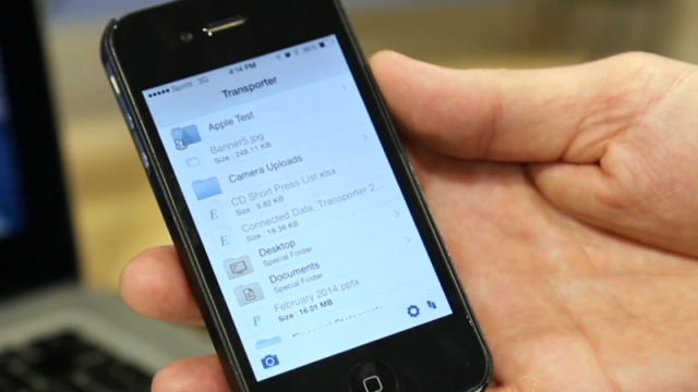 Macworld/iWorld 2014: Create Your Own Private Cloud With Transporter