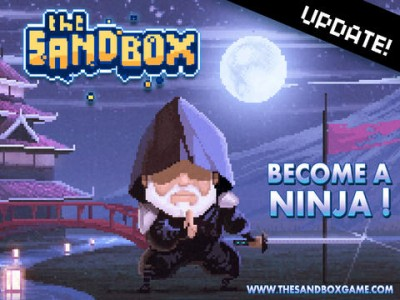 Hiyaaa! Prepare Your Smoke Bombs And Katana For The Sandbox's Ninja Update
