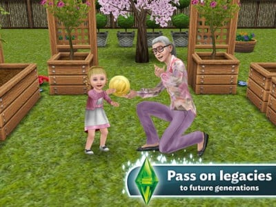 Fulfill Your Sims' Life Dreams And Pass On Their Legacies In The Sims FreePlay