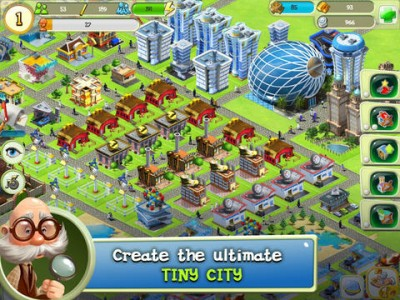 Turn A Tiny City Into The City Of Your Dreams In Chillingo's Newest iOS Release