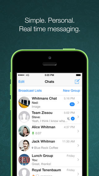 WhatsApp Messenger Updated With New Chat Wallpapers And New Privacy Settings