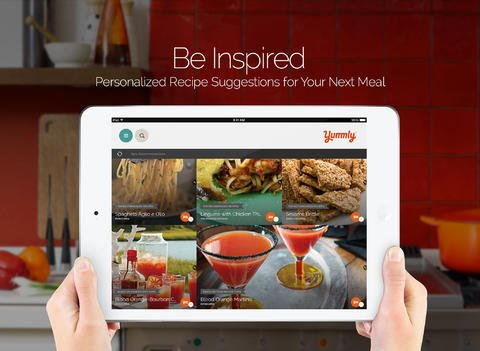 Get Cookin' With Yummly For iPad, Your New Companion In The Kitchen