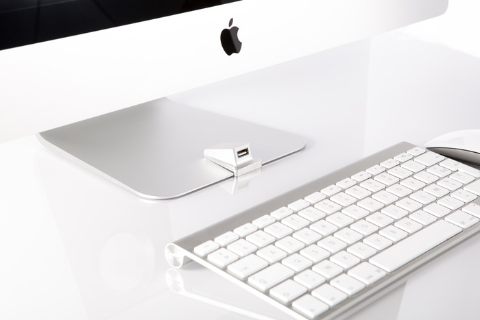 Kickstarter: iMacompanion Puts A USB Port On The Front Of An iMac