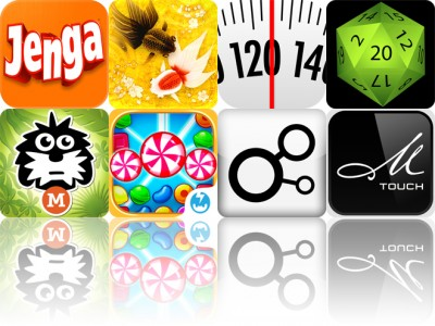 Today's Apps Gone Free: Jenga, Wa Kingyo, Weight Diary And More