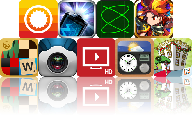 Today's Apps Gone Free: ClearWeather, Battery Life Magic, LissaLab Carbon And More