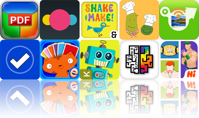Today's Apps Gone Free: PDF Printer, Groops, Ed Emberley's Shake And Make And More