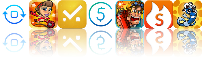 Today's Apps Gone Free: Convertizo, Ring Run Circus, YellingMom And More