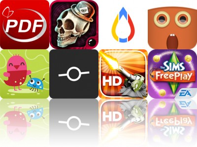Today's Apps Gone Free: PDF Reader, Papa Sangre II, Gage And More
