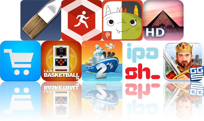 Today's Apps Gone Free: ArtRage, Run Tracker, Monster Coloring Book And More