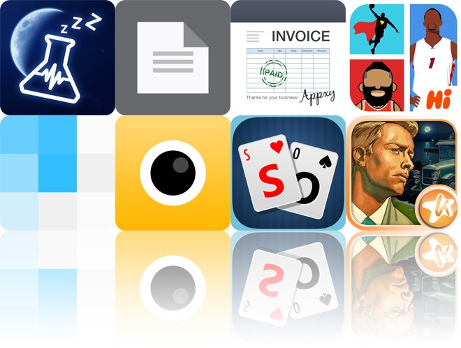 Today's Apps Gone Free: SnoreLab, TextCenter, Turbo Invoice And More