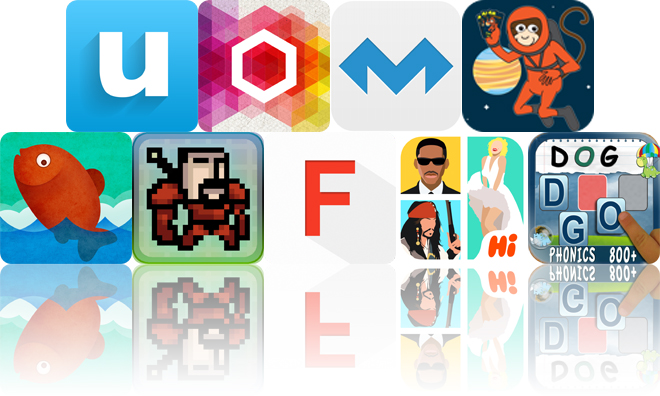 Today's Apps Gone Free: UpWord Notes, Omicron, MolaSync And More