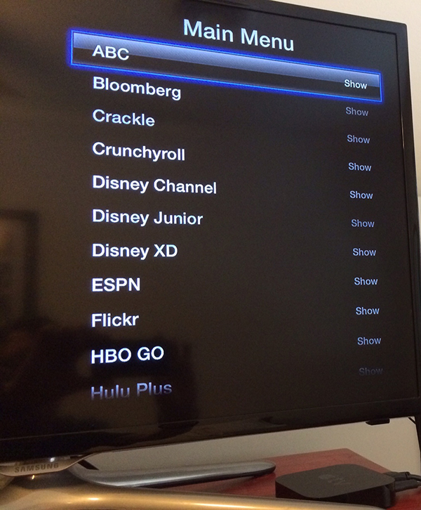 Apple TV Software Update Makes It Much Easier To Hide Unwanted Channels