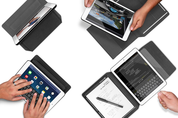 The New Booqpad For iPad Air Combines A Simple Case With Full-Folio Protection