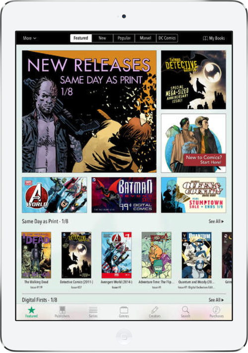 ComiXology Announces A Security Breach, What You Need To Do