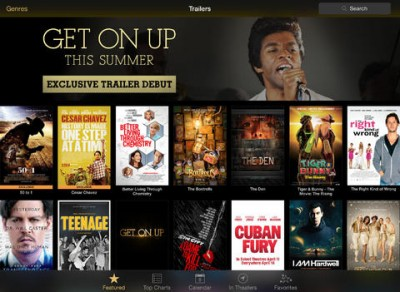 Apple Updates iTunes Movie Trailers App With Rotten Tomatoes Reviews And More
