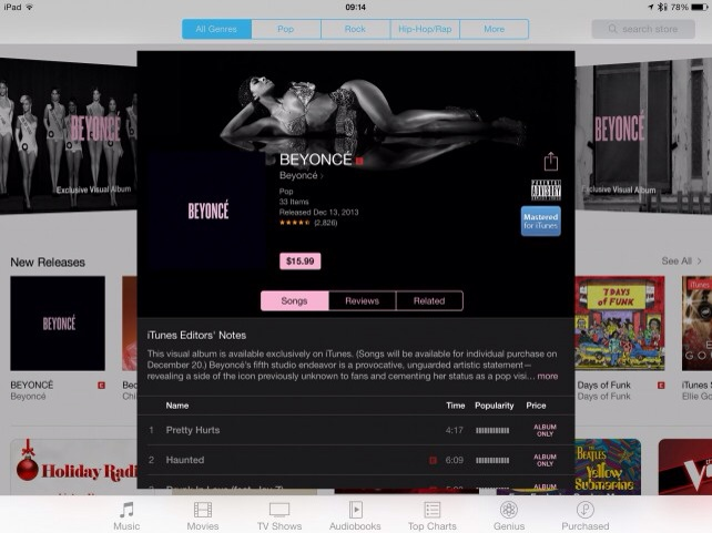 Apple Is Looking To Bring More Beyoncé-Like Album Releases To iTunes