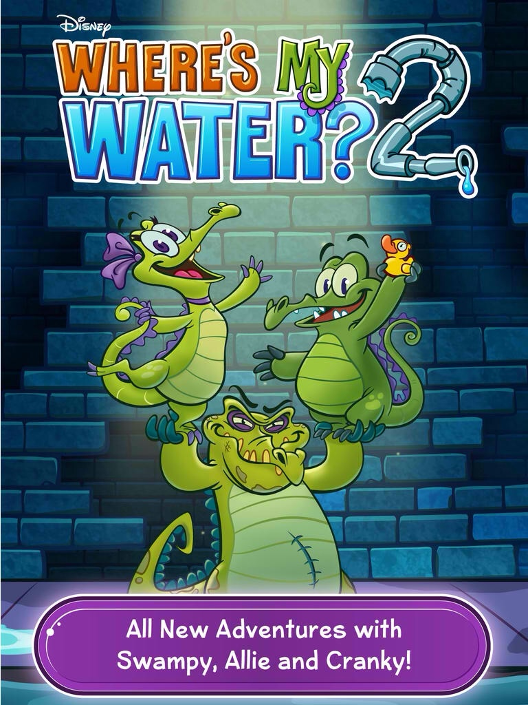 Disney Expands Where's My Water? 2 With More Puzzling Levels In 2 New Locations