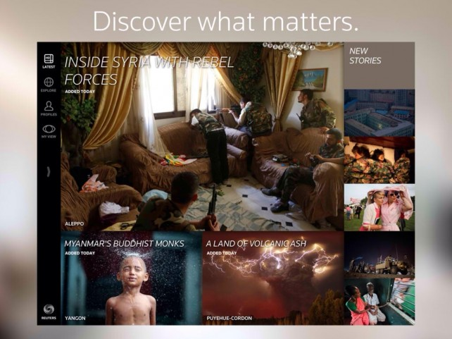 Reuters Now Lets You Experience The Wider Image Right On Your Widescreen TV