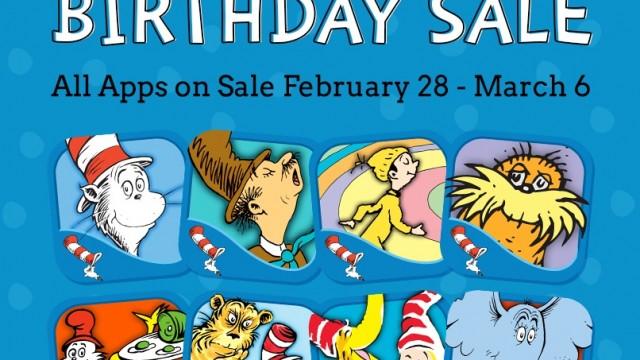 Oceanhouse Media Launches A Seuss-tastic Sale In The App Store