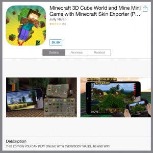 Don't Fall For This Minecraft App Store Scam