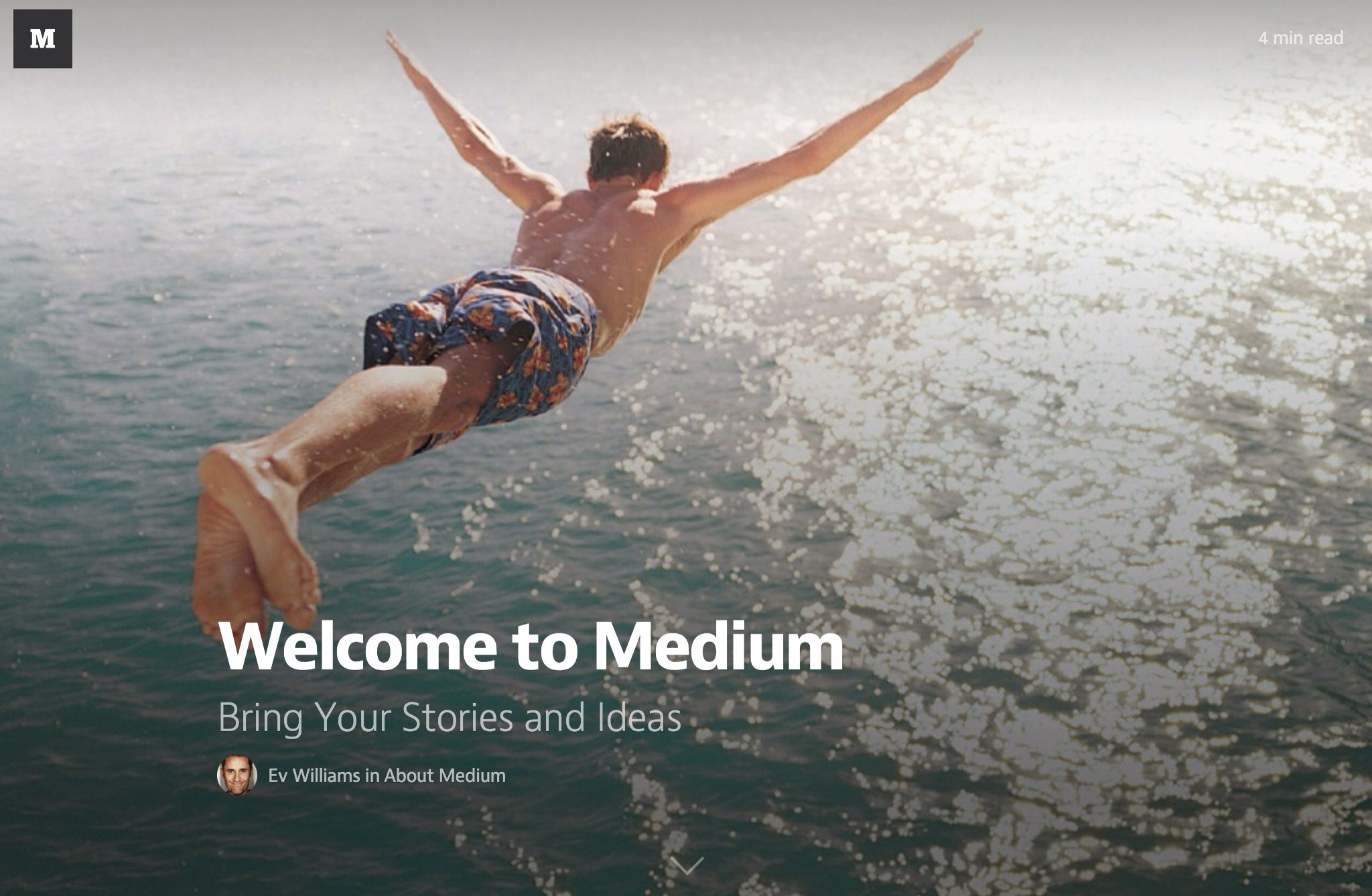 Twitter And Blogger Cofounder Ev Williams' Medium To Launch Official iOS App Next Week