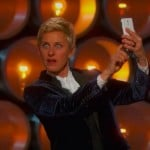 Oscars Host Ellen DeGeneres Didn't Hold On To Her Galaxy Note For Long