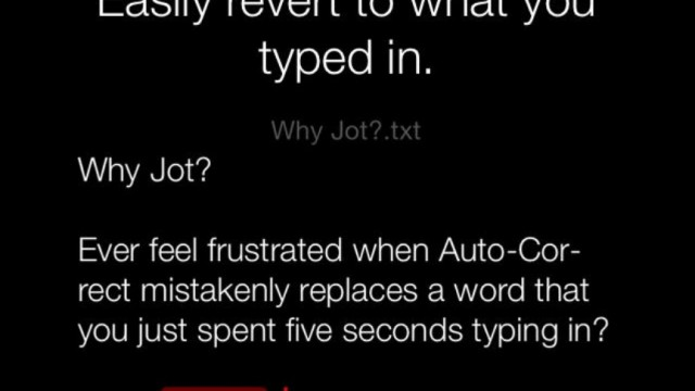Write In The Bliss Of Darkness With Jot - Refined Text Editor
