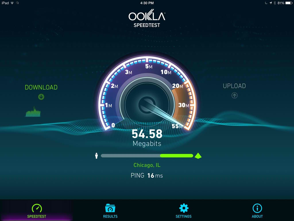 Up To Speed: Official Speedtest.net App For iOS Finally Goes Universal