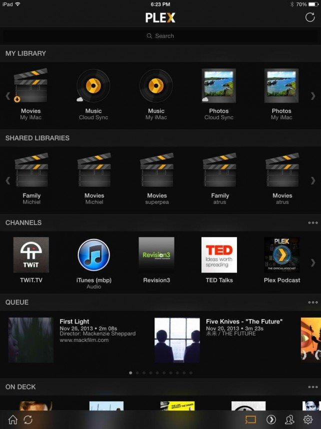 Plex Gains Automatic Camera Upload Support, Makes Chromecast Feature Free